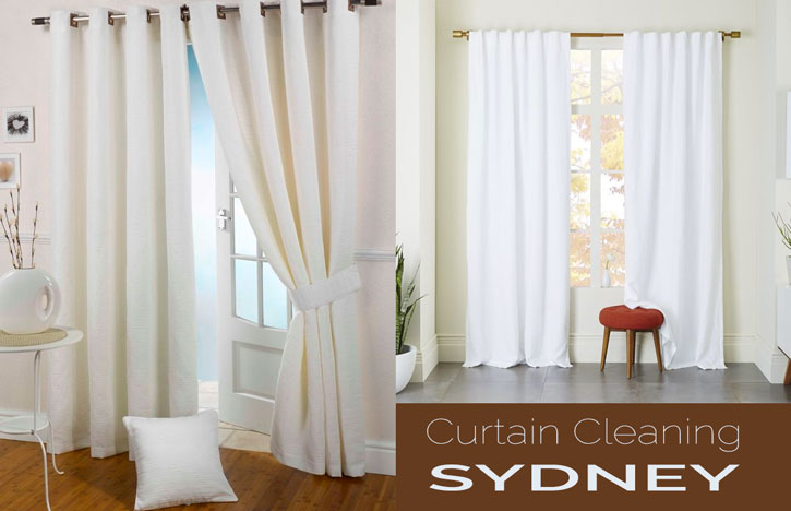 Onsite Curtain steam cleaning