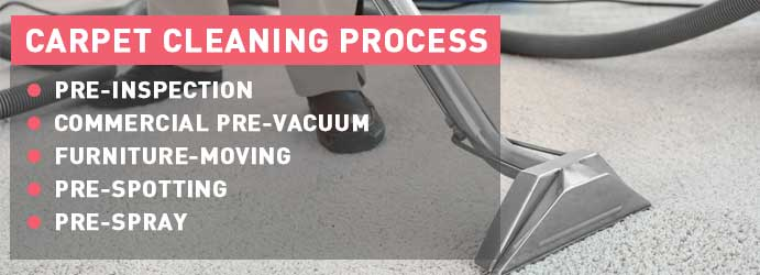 Carpet Cleaning Process in Canberra