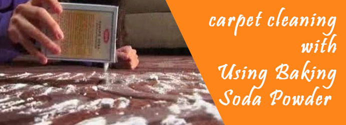 Carpet Cleaning Using Baking Soda Powder