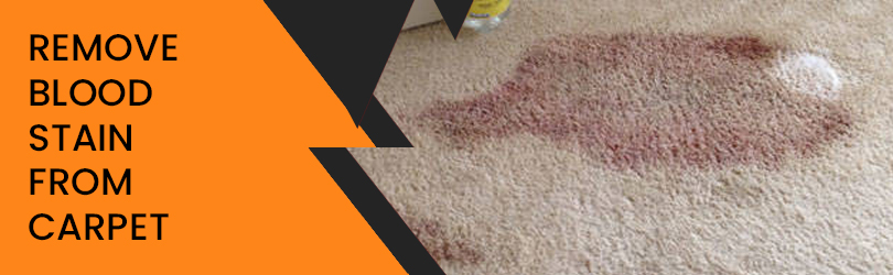 Remove Blood  From Carpet