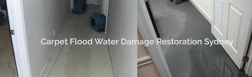 Flood Damage Restoration Services Sydney