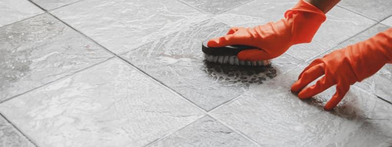 Clean floor Tile