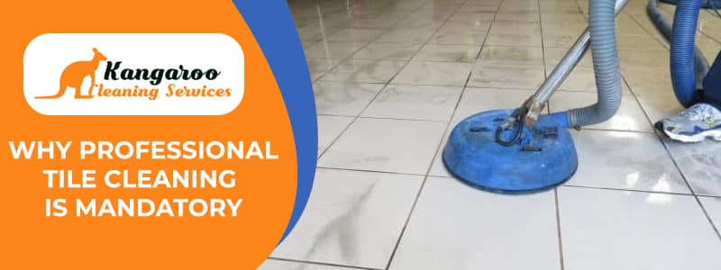 Why Professional Tile Cleaning is Mandatory